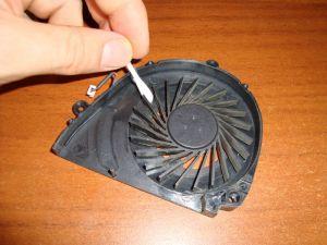 чистка кулера ноутбука Acer aspire 5750g(5551g) от пыли