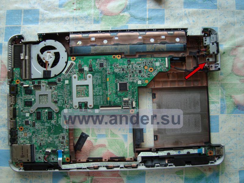 Как почистить ноутбук hp g6 от пыли в домашних условиях видео