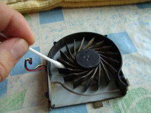 чистка вентилятора ноутбука hp pavilion dv6 от пыли