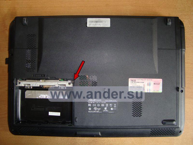 Инструкция Ноутбук Asus K40ij